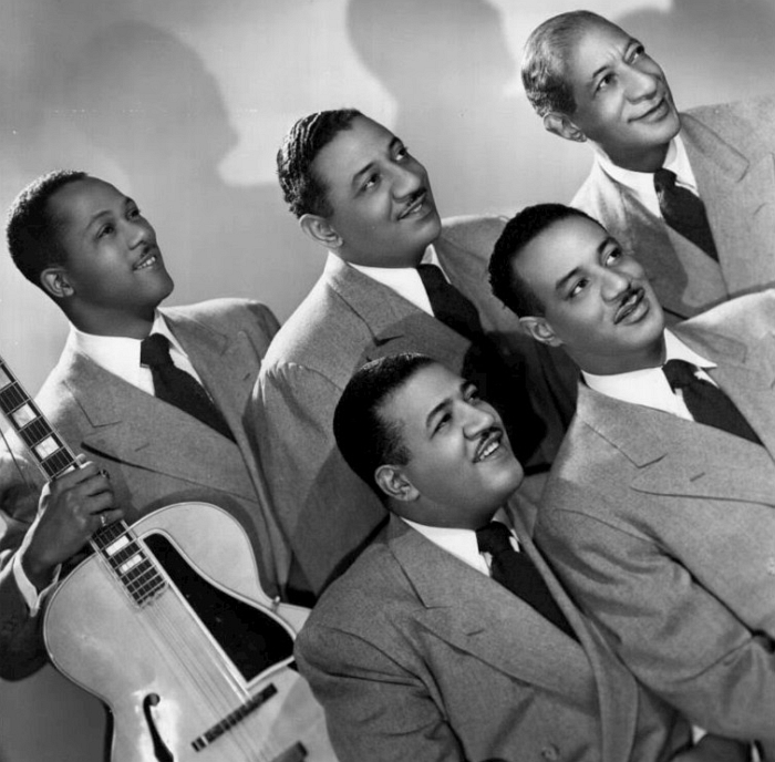 The Mills Brothers publicity photo circa 1940s