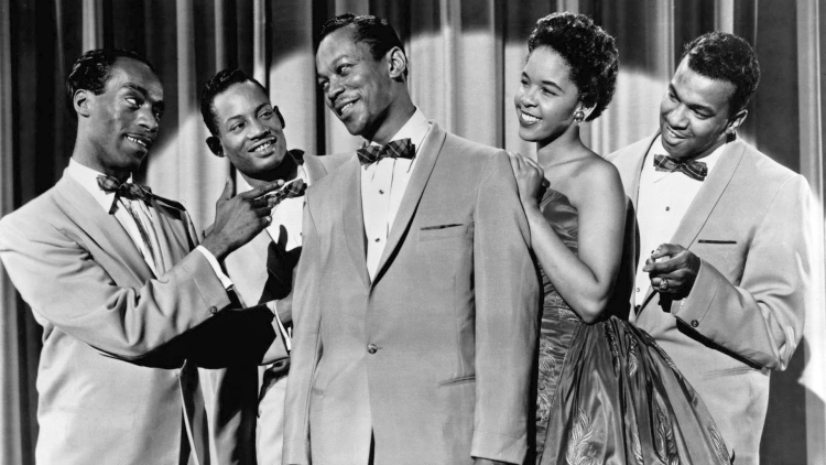 photo of the platters circa 1956