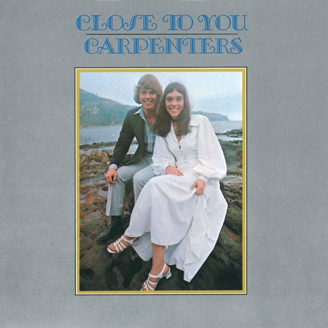 Close to You album cover, the Carpenters August 1970