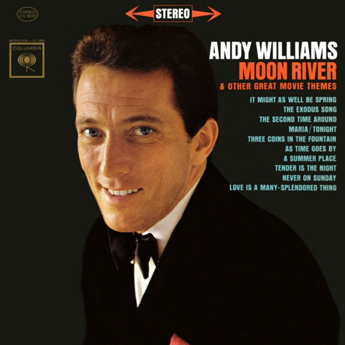 andy williams moon river album cover photo